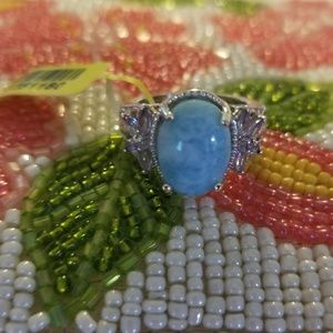 Jewelry - Larimar sterling silver ring